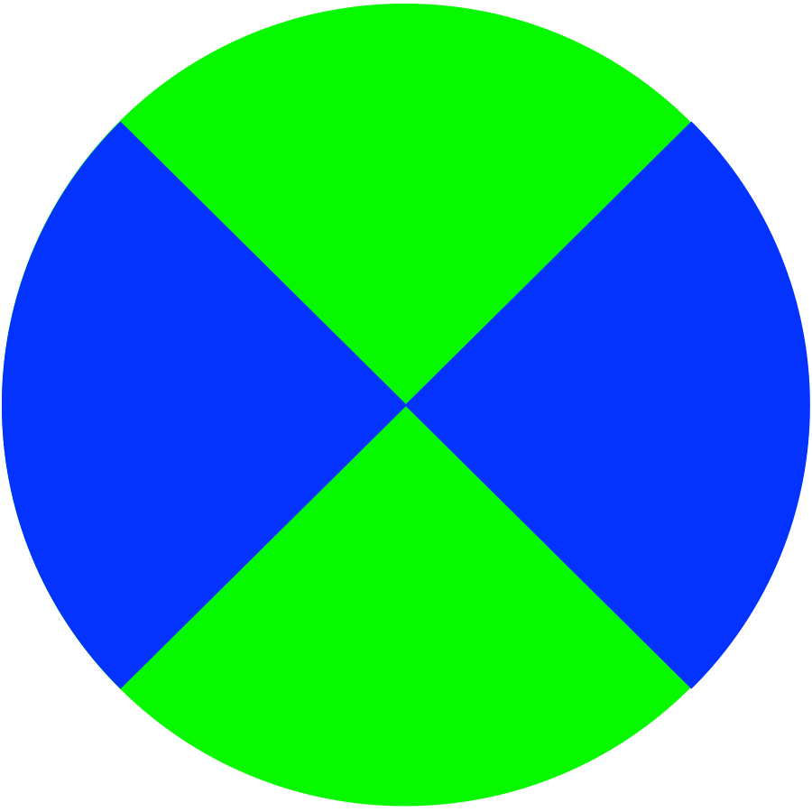 Icon: Green/Blue
