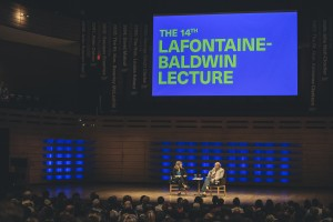 Naomi Klein in conversation with John Ralston Saul