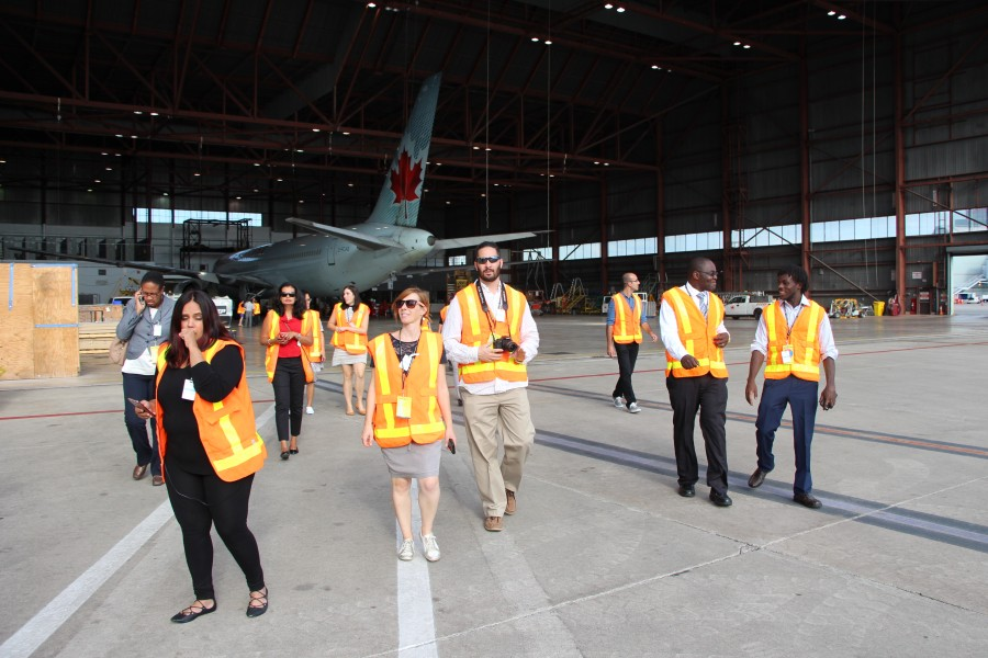 Rapporteurs tour of Toronto Pearson Airport