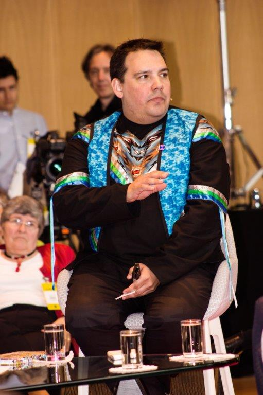 Niigaan Sinclair, 6 Degrees board member and international commentator on Indigenous issues