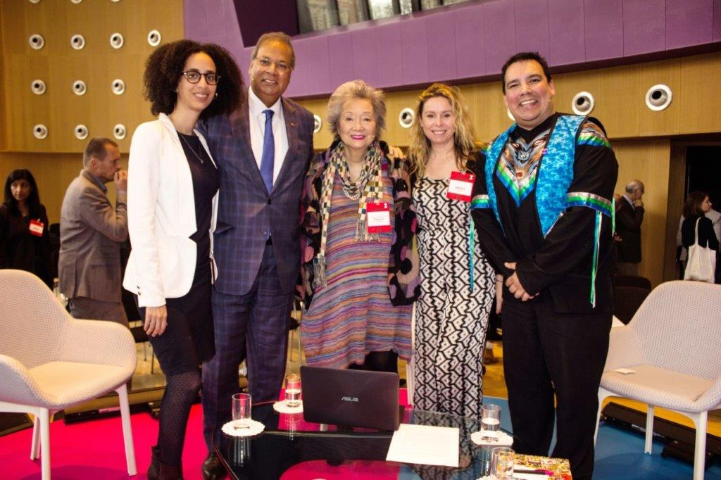 360: Inclusion in the Shock Age with Emilie Nicolas, Dep Mayor Rabin Baldewsingh, The Rt Hon Adrienne Clarkson, Sunny Bergman and Niigaan Sinclair