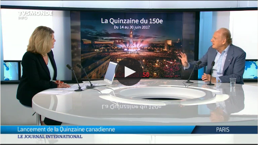 John Ralston Saul on TV5MONDE