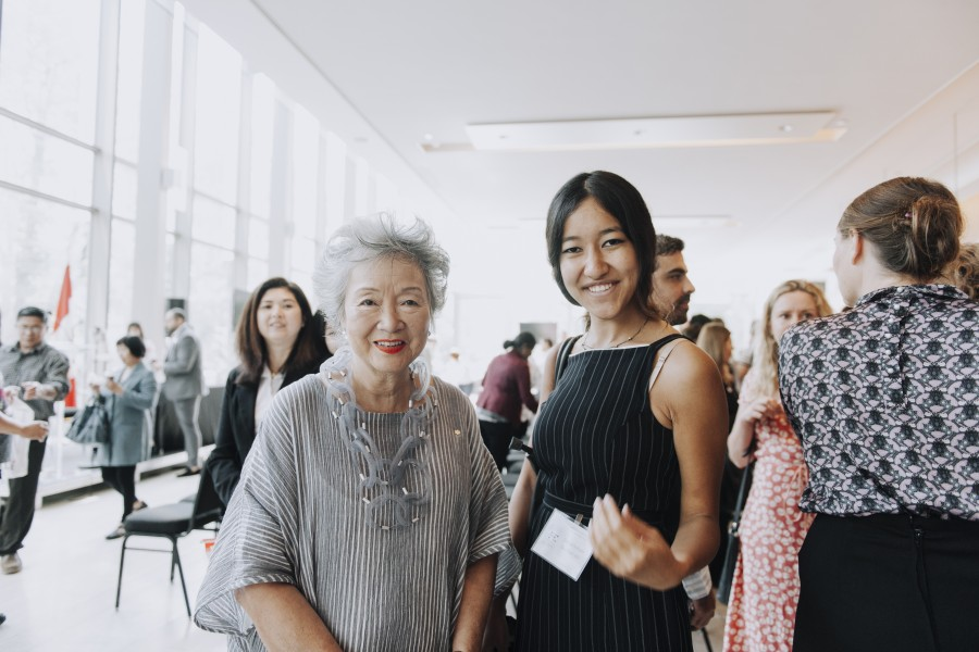 ICC-Citizenship-Ceremony-meeting Adrienne Clarkson2